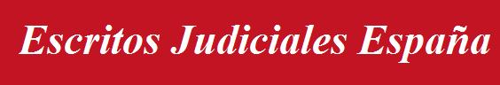 Escritos Judiciales España