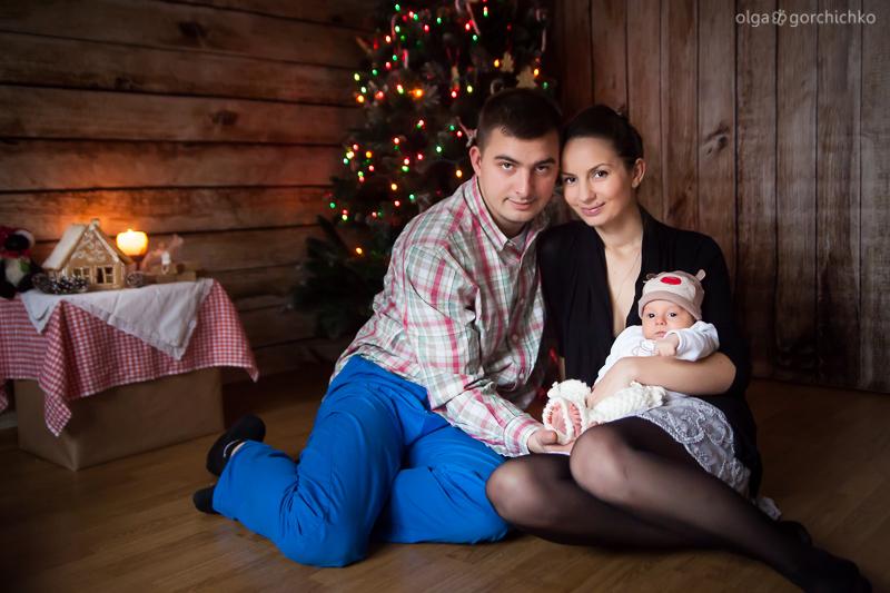 Новогодний фотопроект Пряничный домик