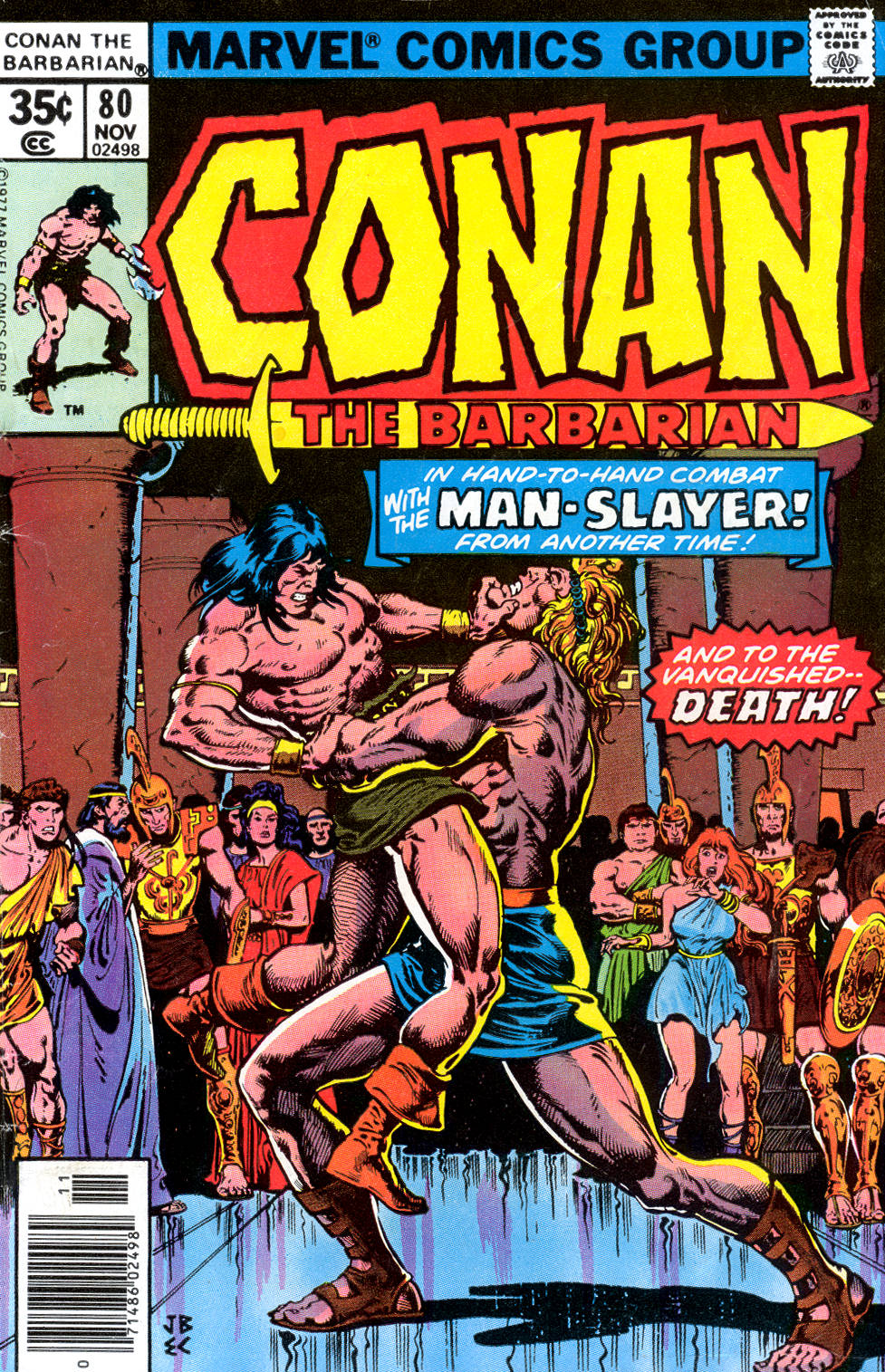 Conan the Barbarian (1970) Issue #80 #92 - English 1