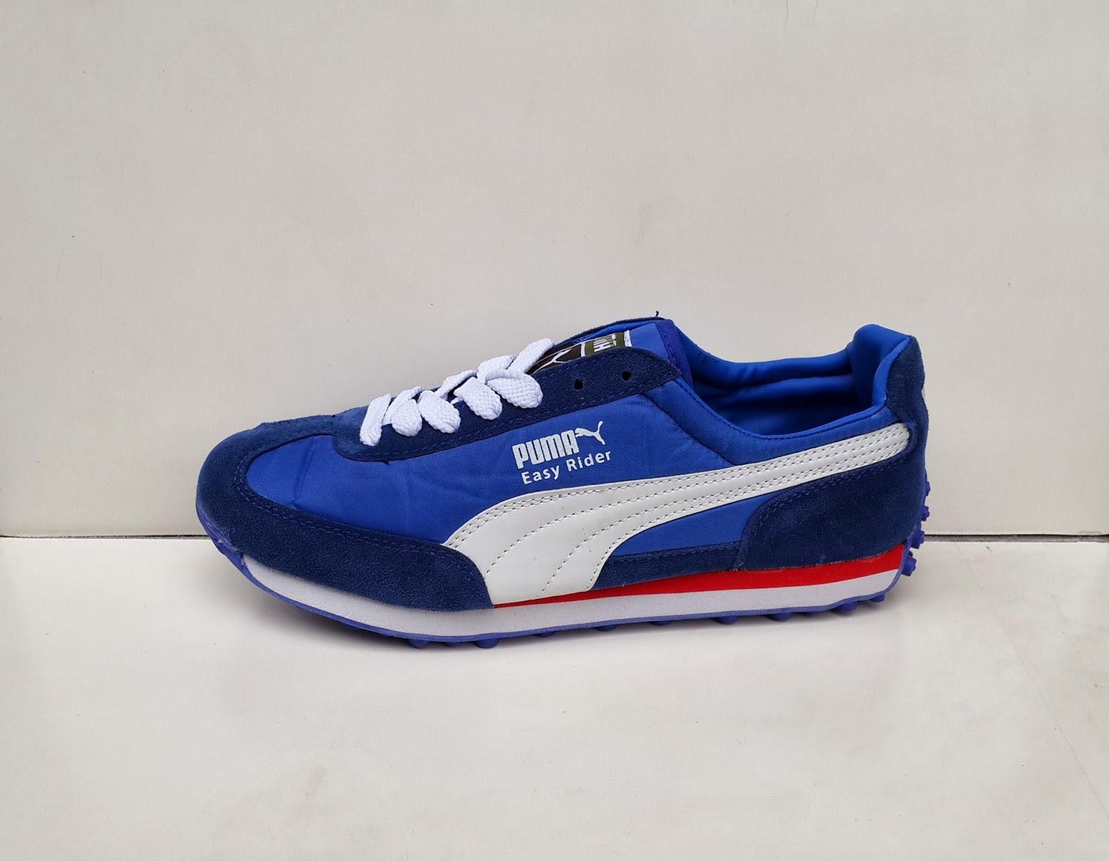 toko sepatu Puma Easy Rider, jual Sepatu Puma Easy Rider biru
