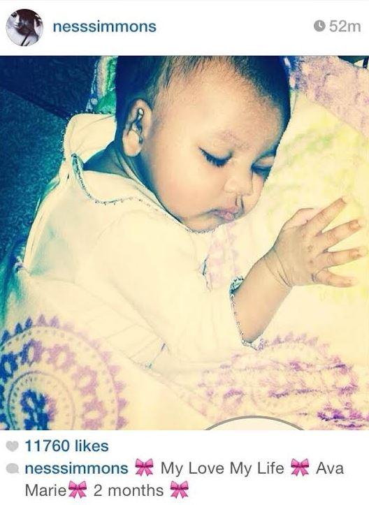 Vanessa Simmons Baby