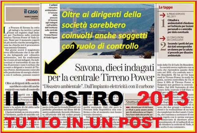 IL NOSTRO 2013 PER  NON DIMENTICARE.