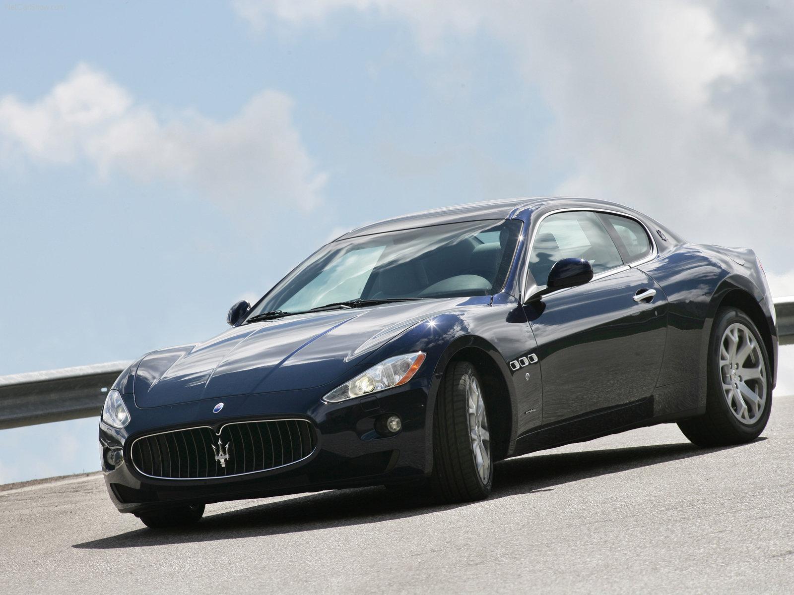 Hình ảnh siêu xe Maserati GranTurismo 2008 & nội ngoại thất