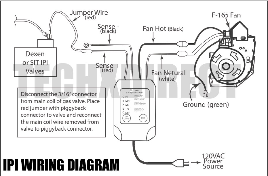 tech x direct product blog november 2011 Majestic Fireplace Wiring Diagram here are a couple wiring diagrams for the most common installation scenarios majestic fireplace fan wiring diagram