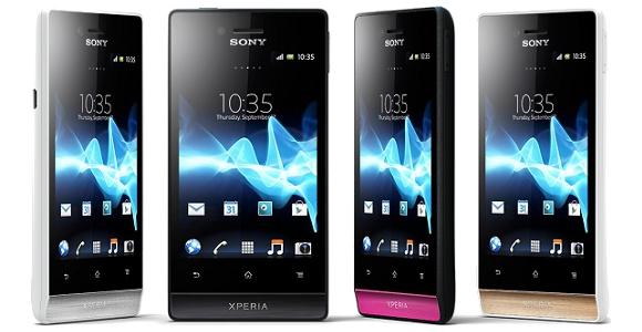 Daftar Harga HP Sony Xperia Terbaru April 2013