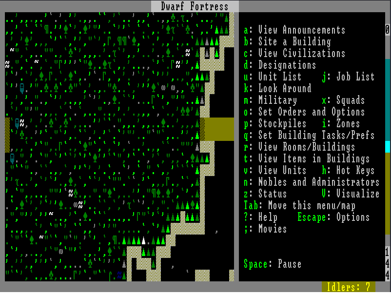 dwarf fortress