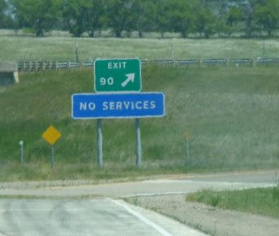 no services exit