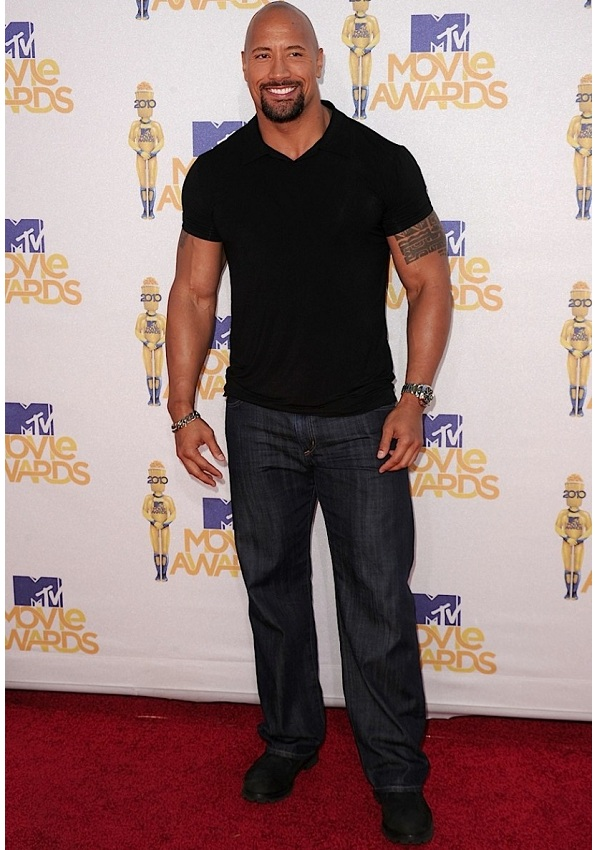 dwayne johnson the rock height how tall celebrity heights