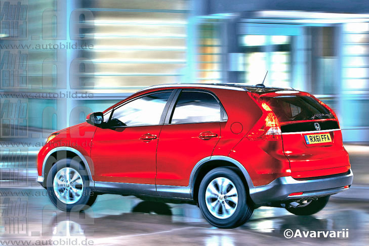 Smaller CR-V coming from Honda to battle mini utes in Europe?