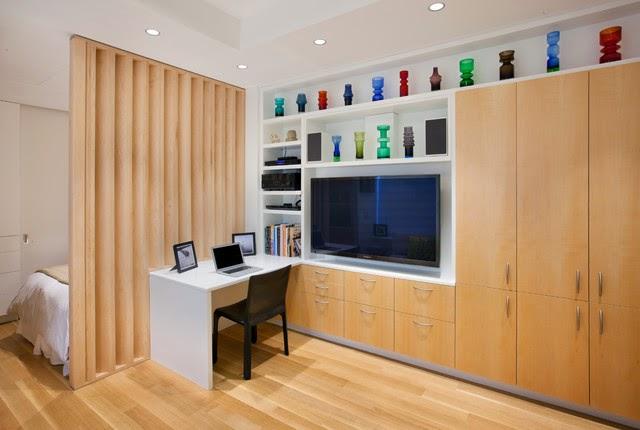 Mobiliario compacto y elegante