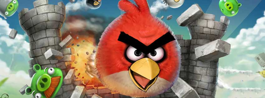 Angry Birds Game Facebook Timeline Cover
