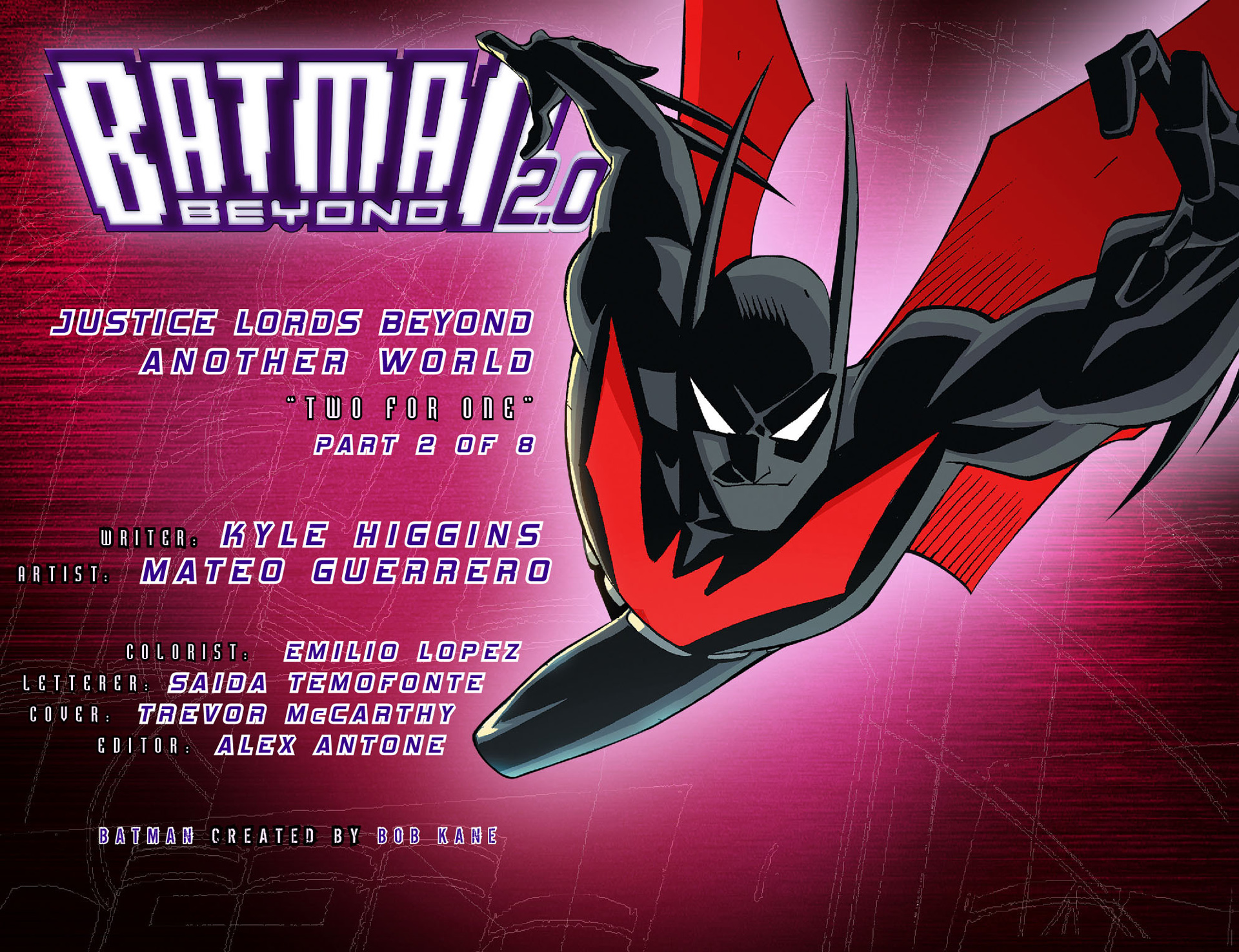 Batman Beyond 2.0 #18 #23 - English 2