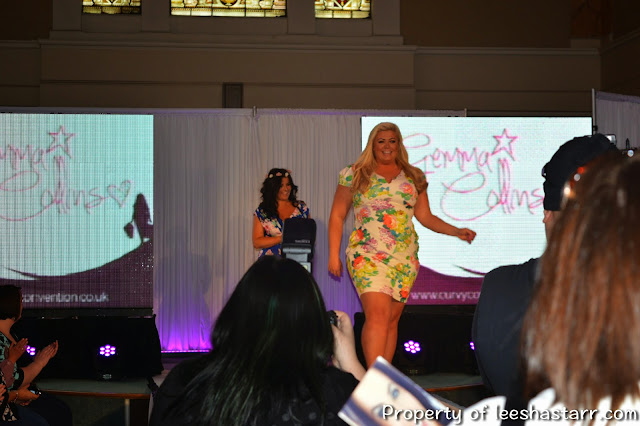 Gemma Collins on Catwalk
