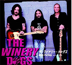 El supergrupo The Winery Dogs (Portnoy, Kotzen y Sheehan)