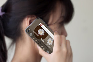 Coque d'Iphone cassette - CocoFlower
