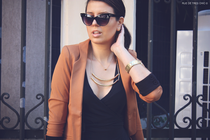brown_blazer_wrap dress_dvf