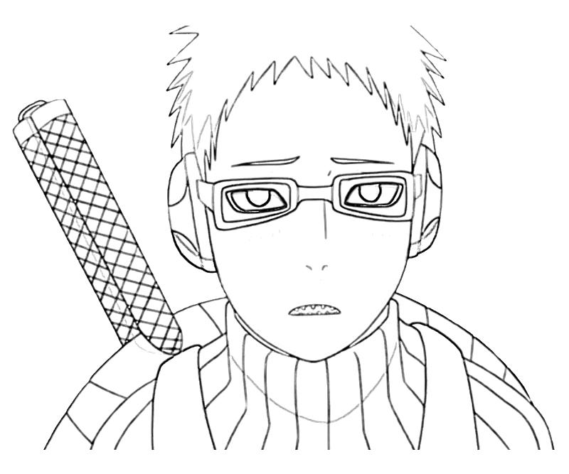 printable-naruto-chojuro-portrait_coloring-pages-2