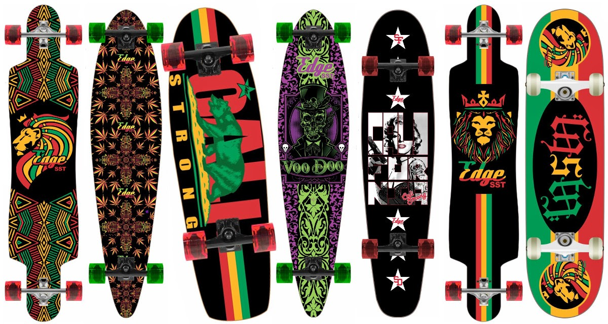 Edge SST Skateboard Design Collector Series A1 April 2014