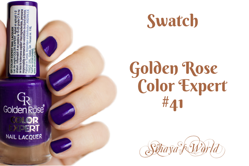 golden rose color expert 41 swatch