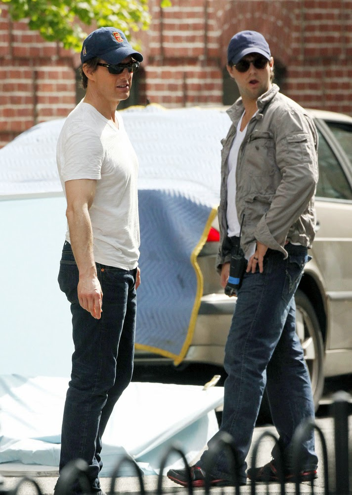 tom cruise con su doble de accion