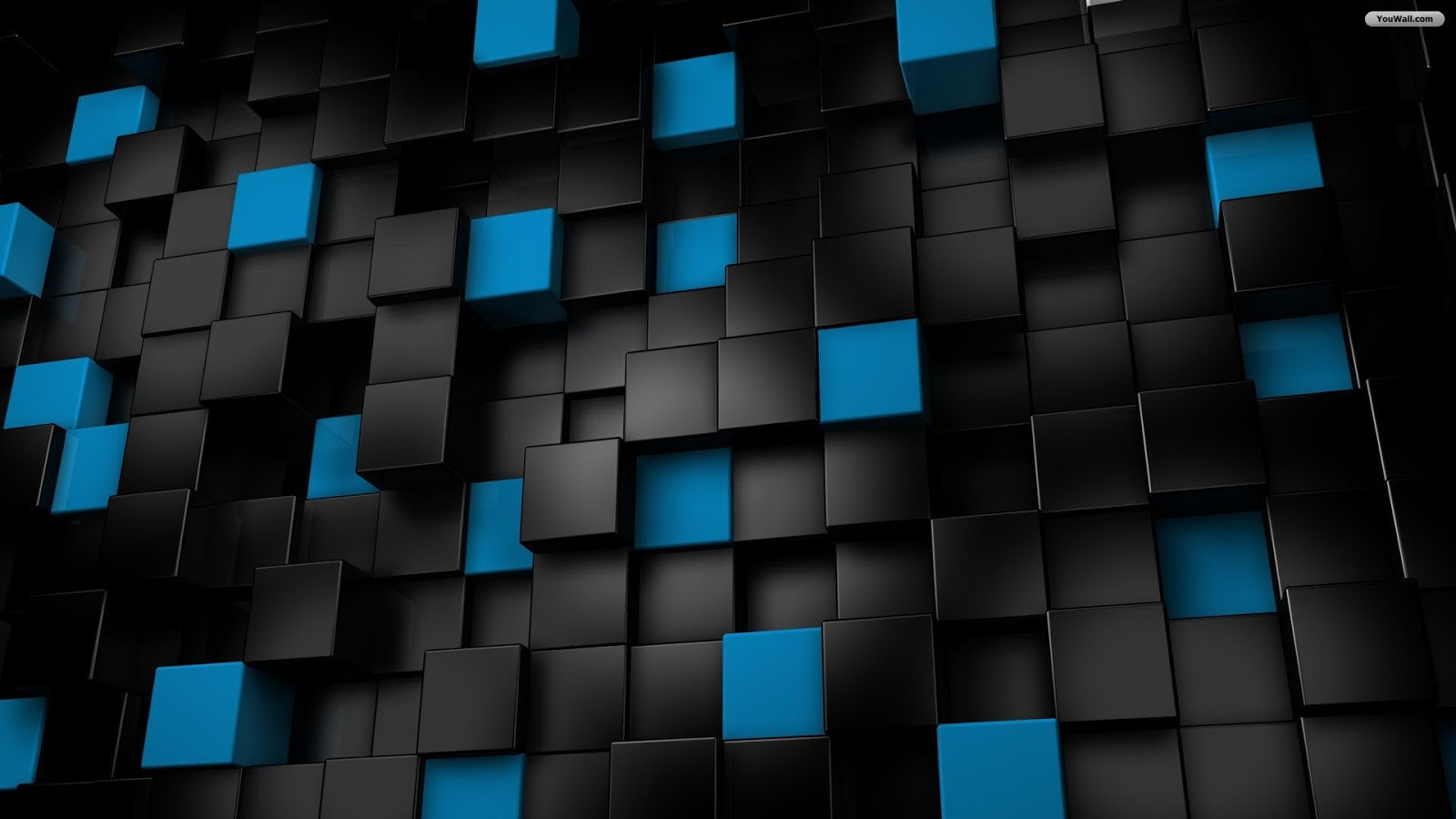 Black wallpaper 3d for Dark blue wallpaper for walls