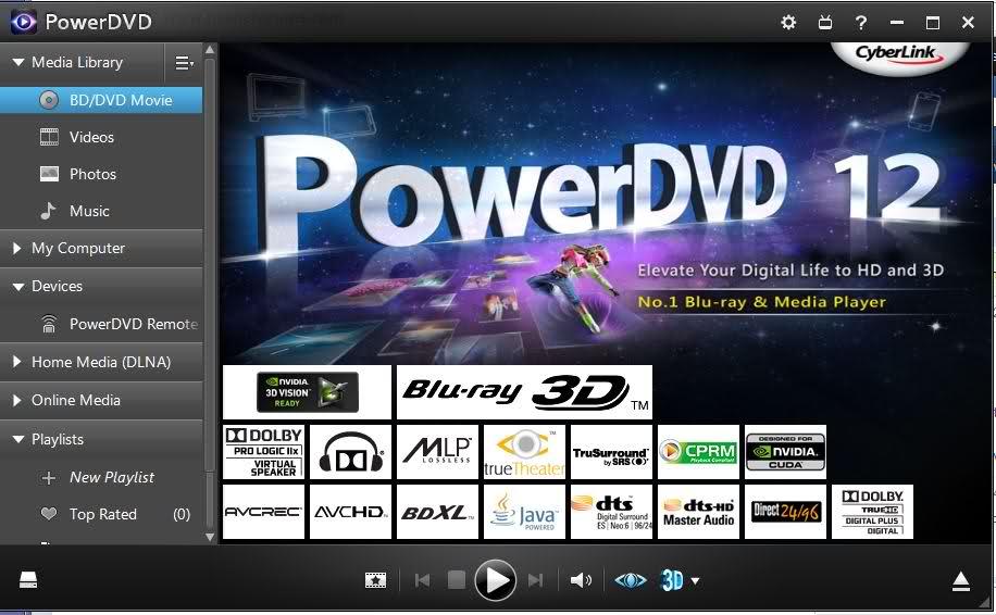 B Power DVD/b 12/b.