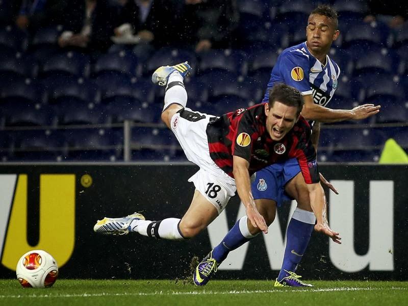 Golos do Eintracht Frankfurt - Futebol Clube do Porto