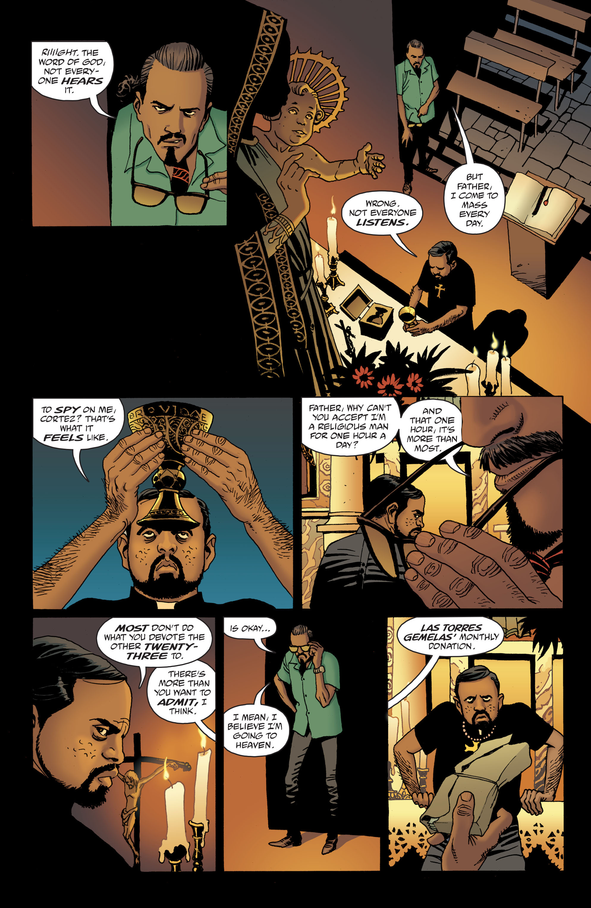 100 Bullets: Brother Lono Full Page 16