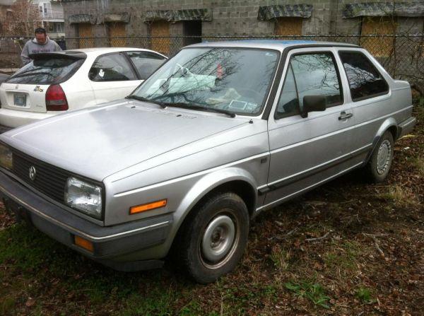 Just A Car Geek: 1987 Volkswagen Jetta 2 Door - In Search Of A Good
