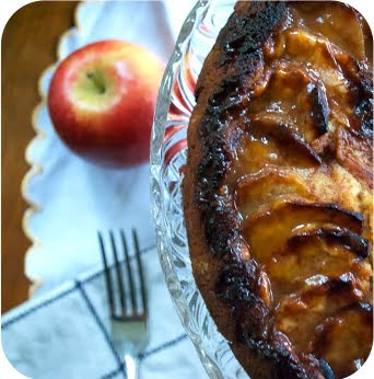 Spiced Apple & Creme Fraiche Cake