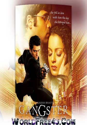 Poster Of Gangster (2006) All Full Music Video Songs Free Download Watch Online At worldfree4u.com