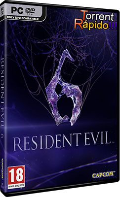 Download da Capa 3D do Game Resident Evil 6 PC BY Torrent Rápido!!!