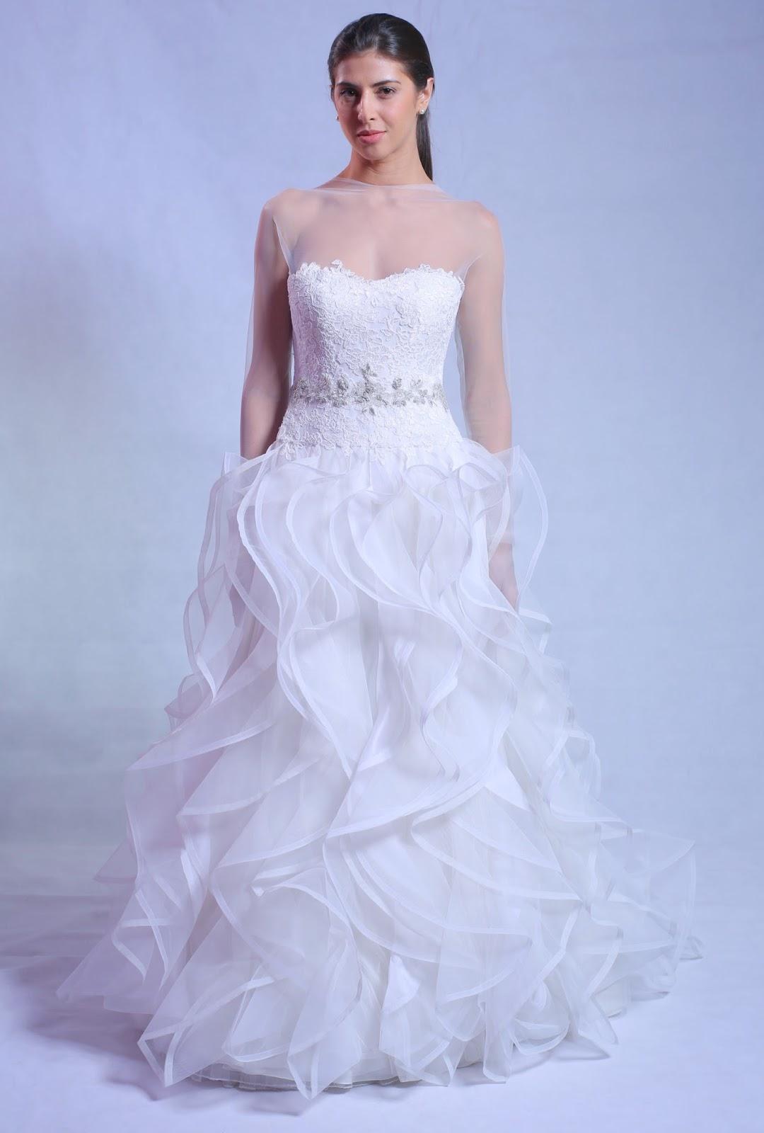 Aiisha Ramadan Spring 2014 Bridal Collection