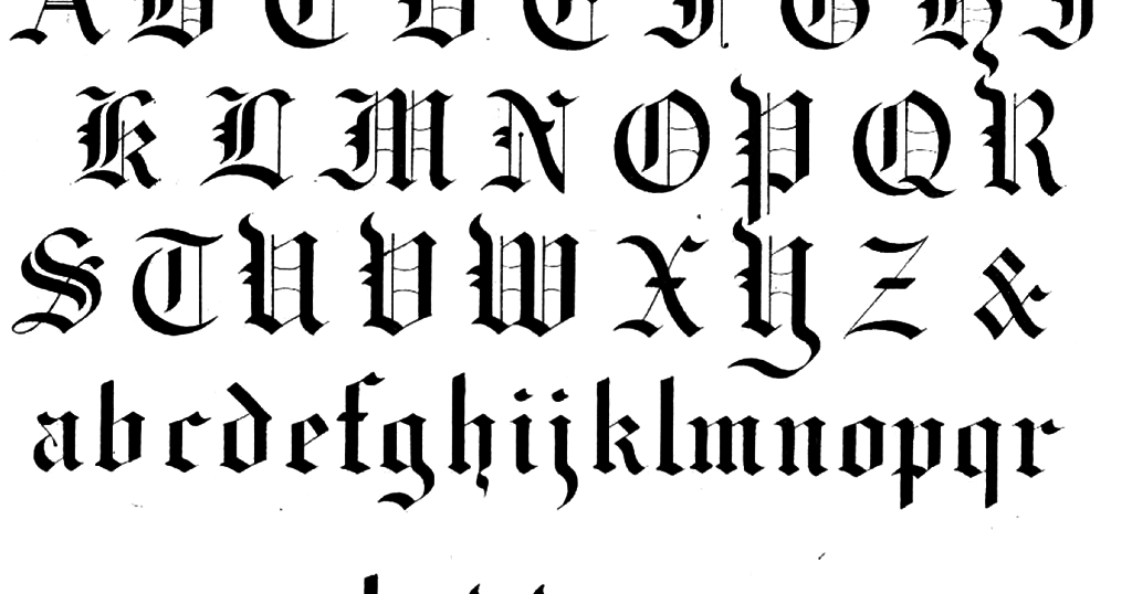 Commonly Used Calligraphy Fonts Allicient Taking Your