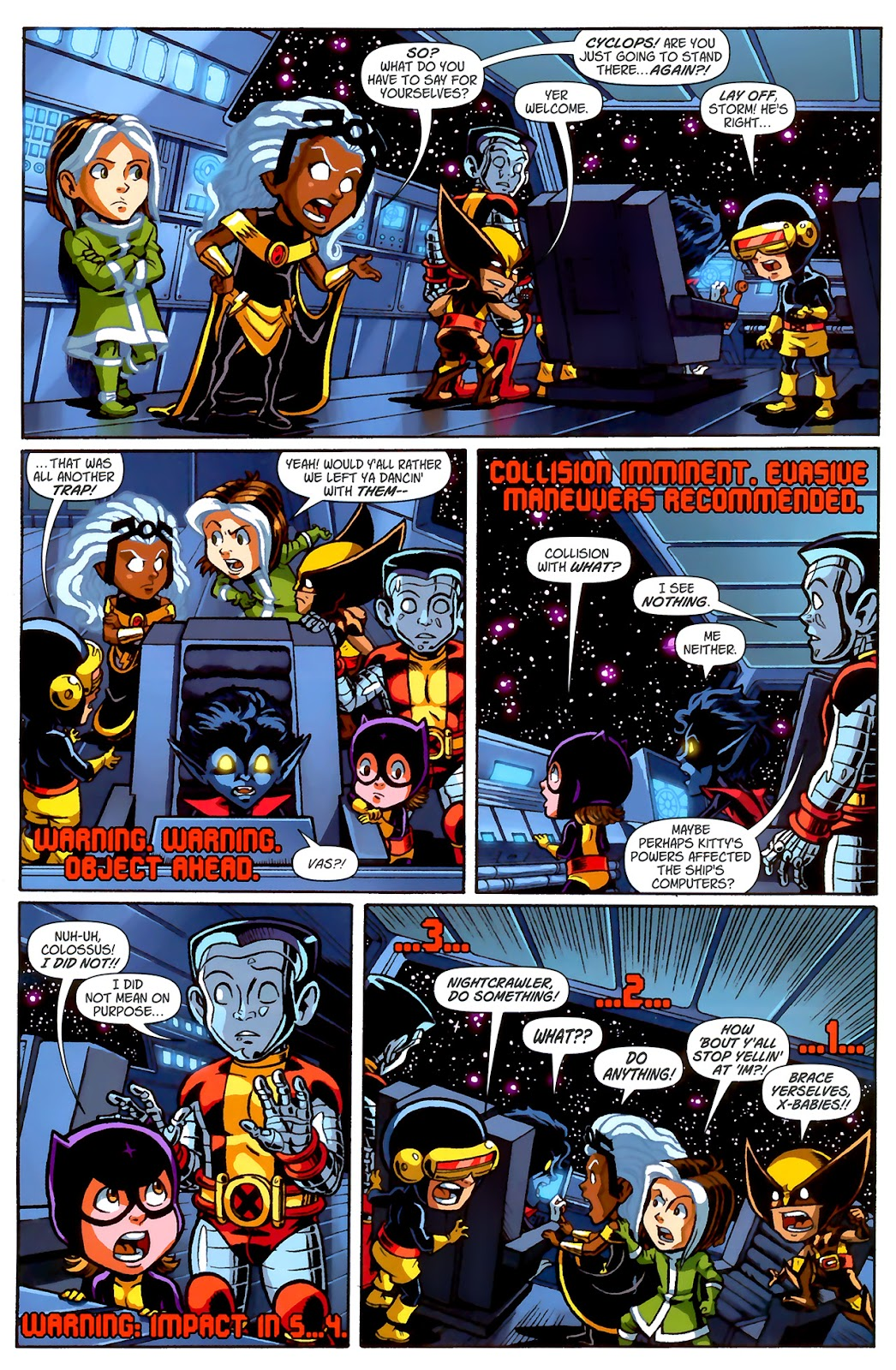 Read online X-Babies comic -  Issue #2 - 12
