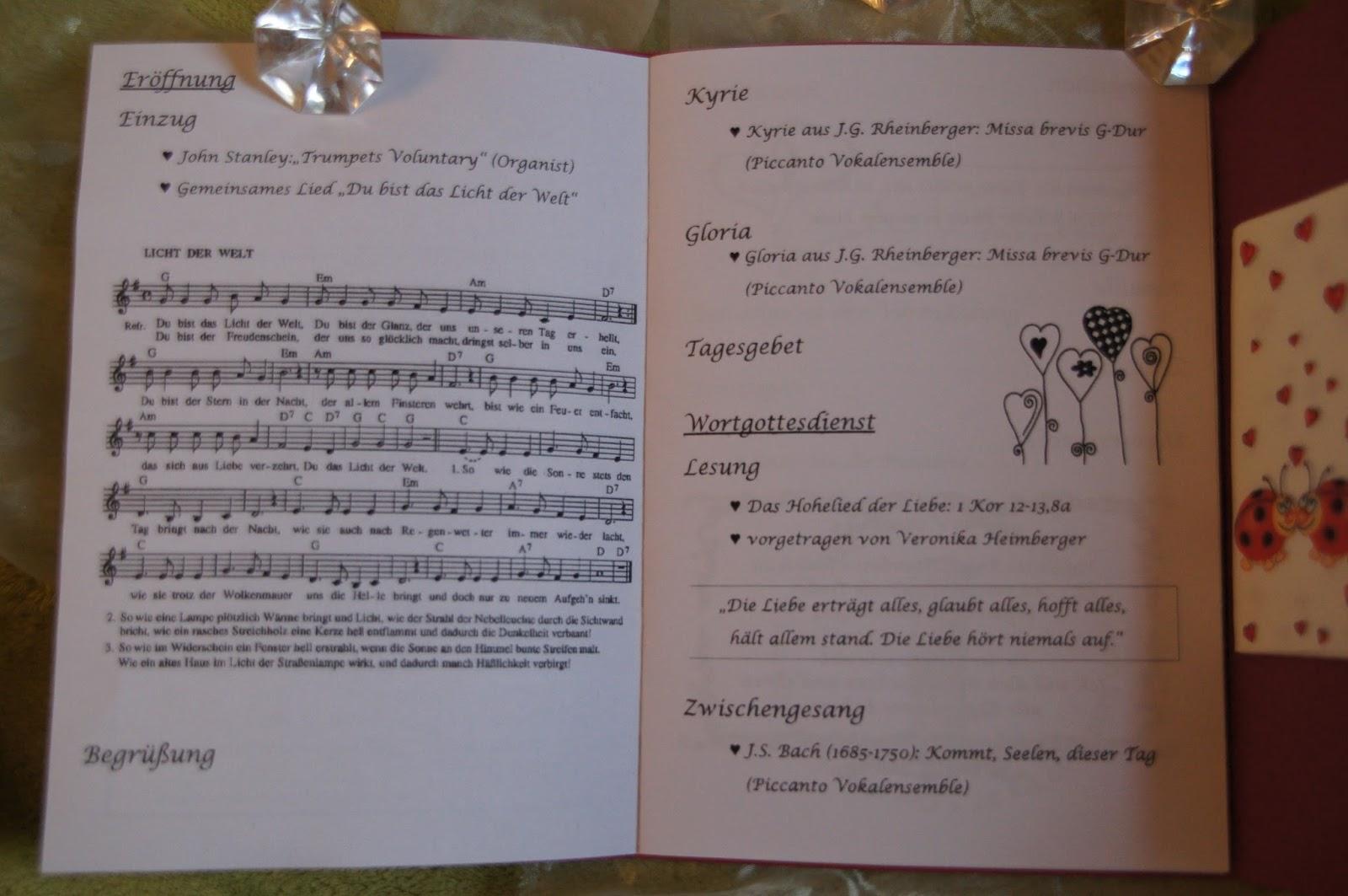 Kirchliche trauung musik