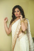 gowthami chowdary glamorous in saree-thumbnail-2