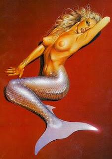 Oleos de Sirenas Desnudas