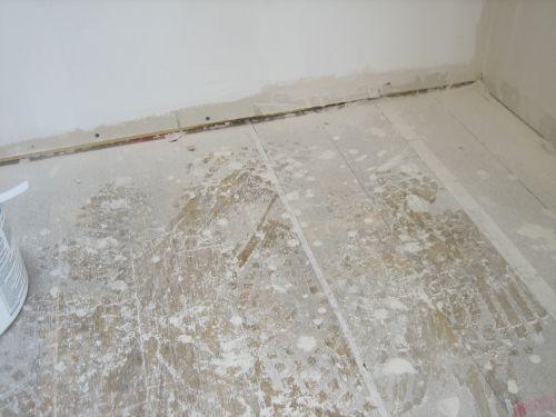 Our Handmade Home - Plaster dust