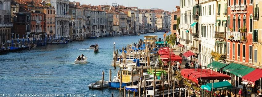 Couverture facebook venise