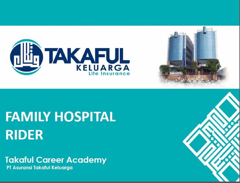 Family Hospital Rider TAKAFUL
