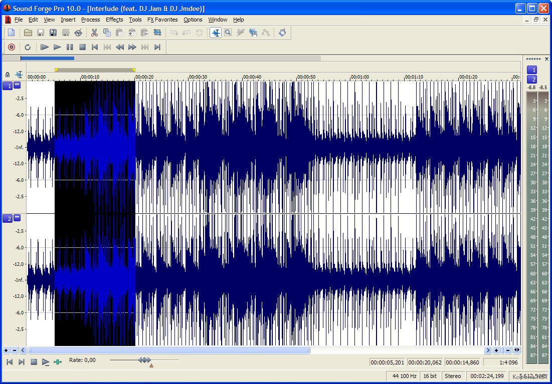 Substitutos: Windows para Linux - Edição de áudio
