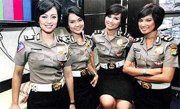 Perbezaan Polis Wanita Indonesia & Polis Wanita Malaysia