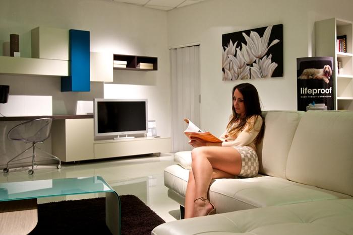 divano bianco mak mobili