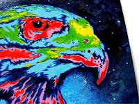 Hawks painting for sale
