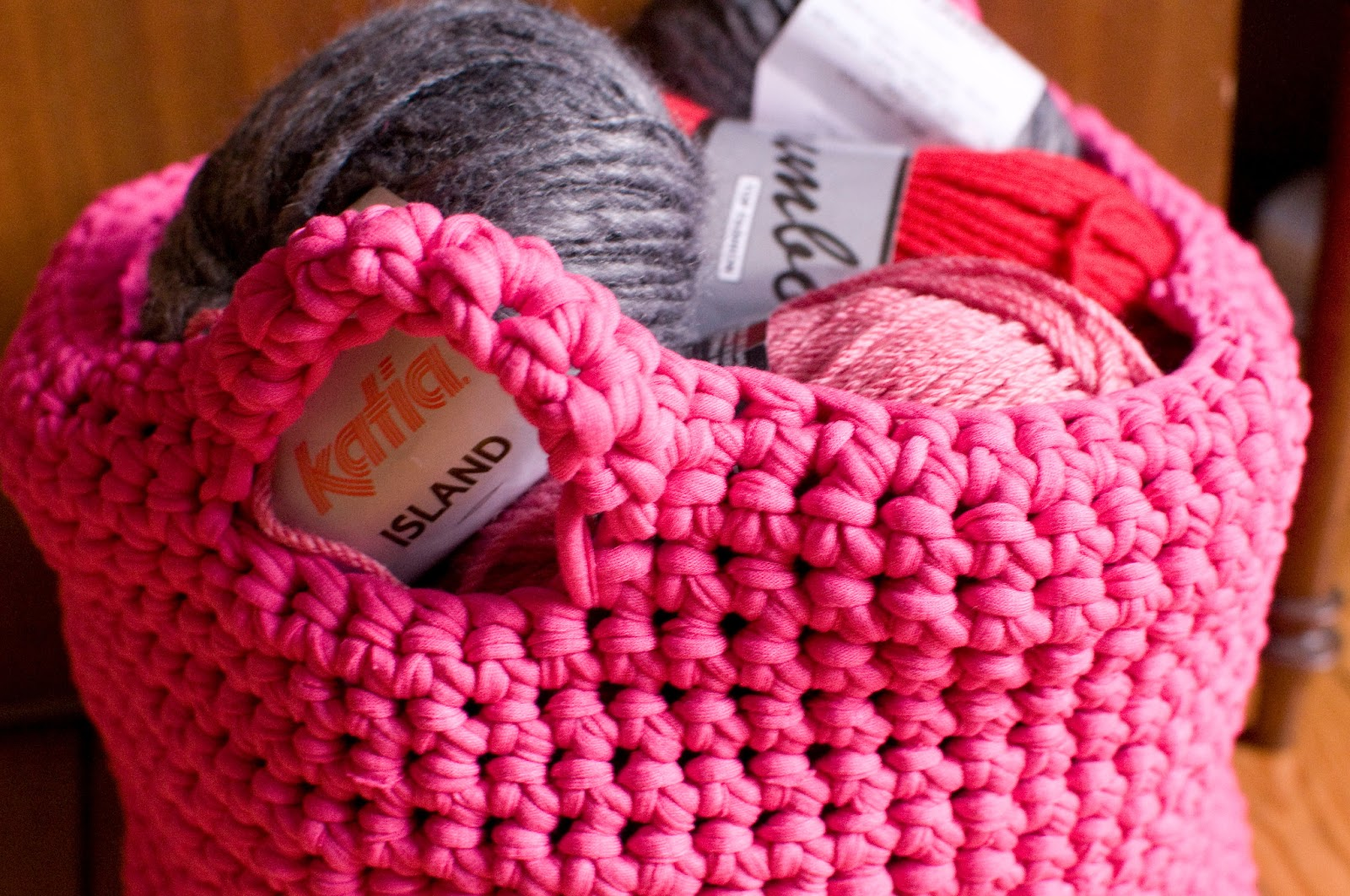 Sac Panier Crochet : Couture tricot mamzelle angele panier crochet?