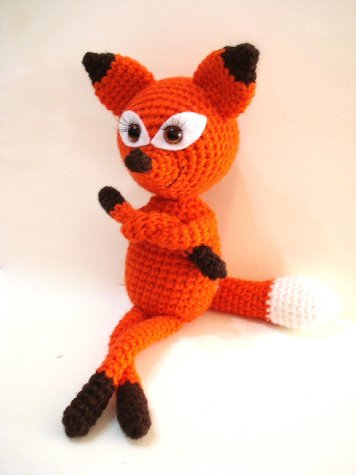 AllSoCute Amigurumis: Amigurumi Fox, Crochet Fox Pattern