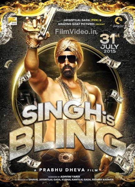 Singh is Bling Poster 1