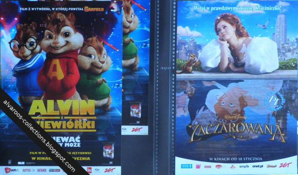 movie flyers - Alvin and chipmunks, Enchanted