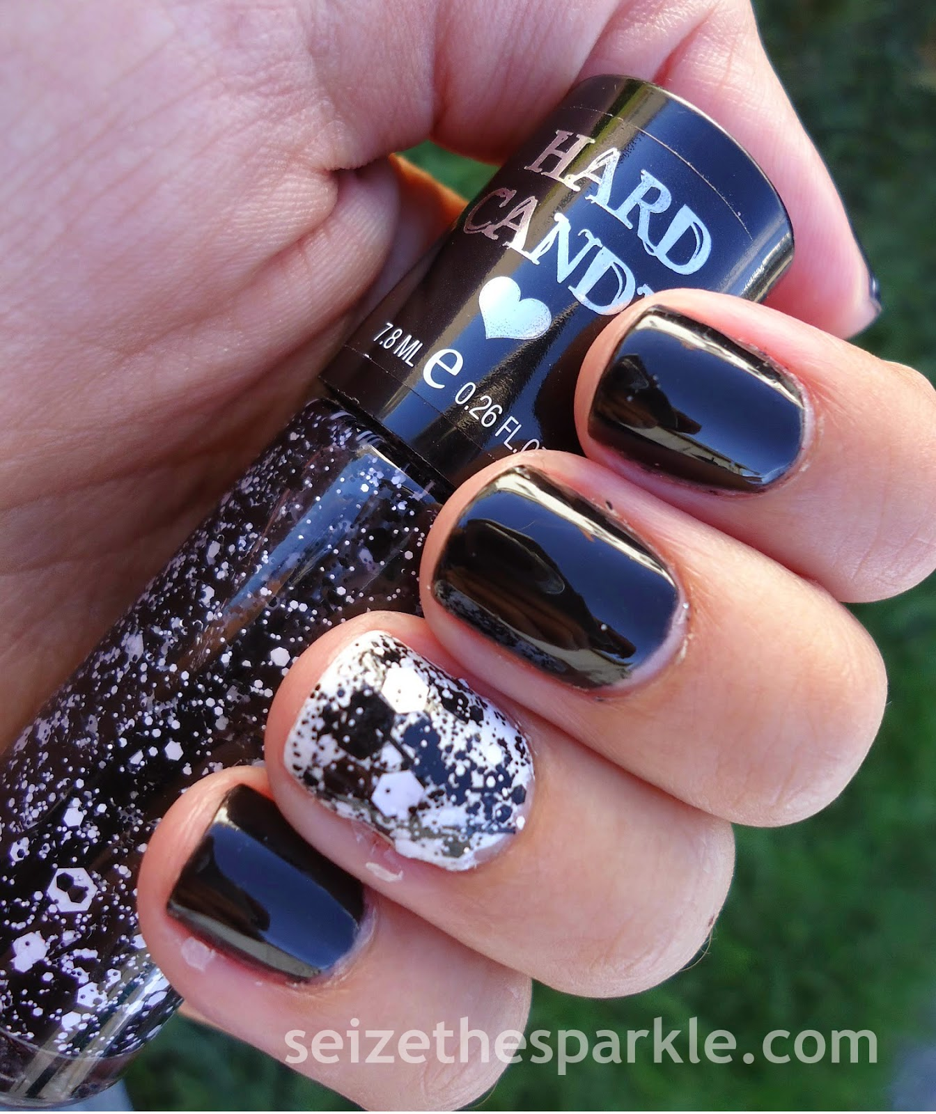 OPI Black Onyx & Hard Candy Black Tie Optional